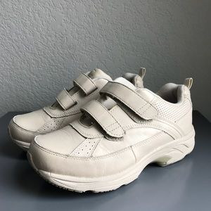 Drew Double Velcro Taupe Chunky Dad Sneakers